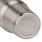 Термокружка YETI Rambler Tumbler 30 OZ (Сталь), фото 4