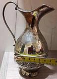 Кувшин оловянный посеребренный, фото 2