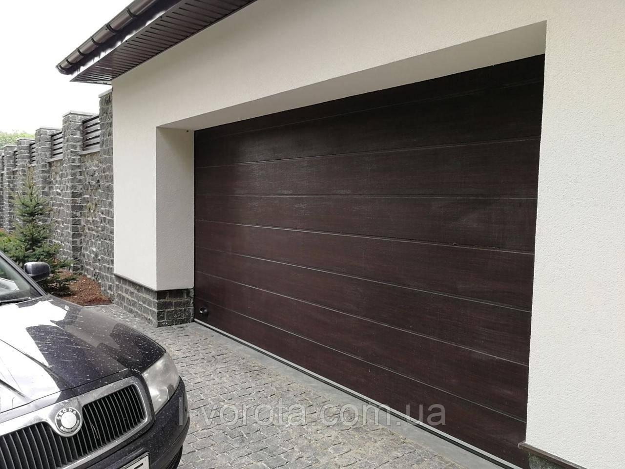 Автоматические гаражные ворота DoorHan ш3500мм, в2200мм (автоматика в комплекте)