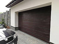 Автоматические секционные гаражные ворота DoorHan ш3500мм, в2200мм (автоматика в комплекте)