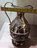 Кувшин оловянный посеребренный, фото 5