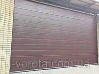 Автоматические гаражные ворота DoorHan ш3500мм, в2200мм (автоматика в комплекте), фото 4