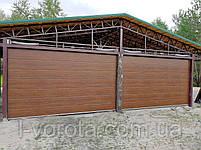 Автоматические гаражные ворота DoorHan ш3500мм, в2200мм (автоматика в комплекте), фото 3
