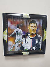 Годинники настінні з футбольною тематикою