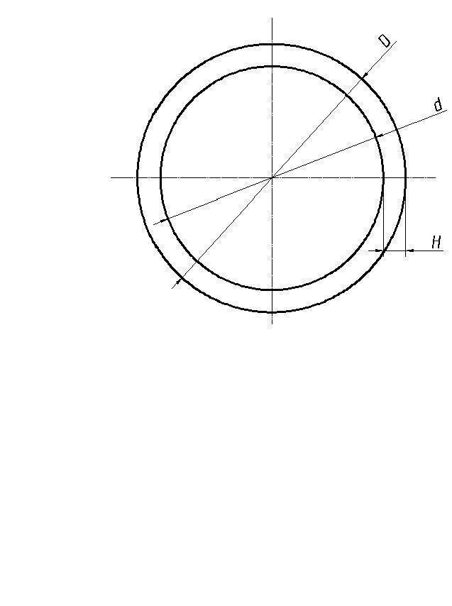 Труба круглая алюминиевая Ø 55 *2.5 мм