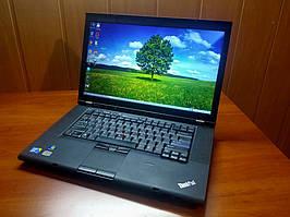 Ноутбук, notebook, Lenovo ThinkPad T510, 4 ядра по 3,2 ГГц, 4 Гб ОЗУ, HDD 320 Гб