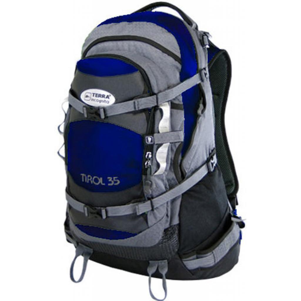 Рюкзак Terra Incognita Tirol 35 blue / gray (4823081500735)