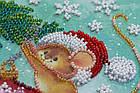 Набор для вышивки бисером Мини Украшая елку (15 х 15 см) Абрис Арт AM-214, фото 4