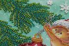 Набор для вышивки бисером Мини Украшая елку (15 х 15 см) Абрис Арт AM-214, фото 6
