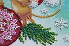 Набор для вышивки бисером Мини Украшая елку (15 х 15 см) Абрис Арт AM-214, фото 3