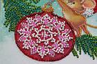 Набор для вышивки бисером Мини Украшая елку (15 х 15 см) Абрис Арт AM-214, фото 5