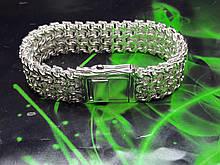Срібний браслет Рамзес