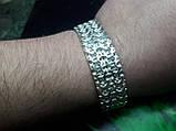 Серебряный браслет Рамзес, фото 4