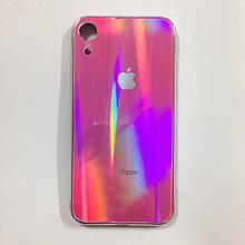 Чехол для iPhone XR Holografic Pink