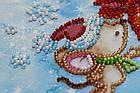 Набор для вышивки бисером Мини Зимнее чудо (15 х 15 см) Абрис Арт AM-215, фото 3