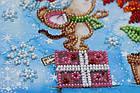 Набор для вышивки бисером Мини Зимнее чудо (15 х 15 см) Абрис Арт AM-215, фото 4