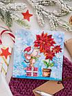 Набор для вышивки бисером Мини Зимнее чудо (15 х 15 см) Абрис Арт AM-215, фото 2