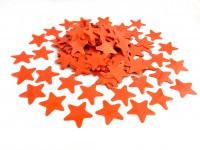 Аксесуари для свята конфеті Конфеті зірка оранжева