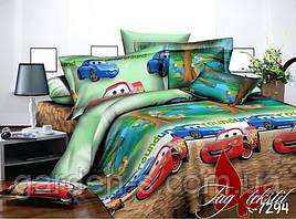 Комплект постельного белья Тачки ТМ TAG 1,5 спальный комплект