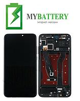 Дисплей (LCD) Huawei Honor 8X с сенсором черный + рамка