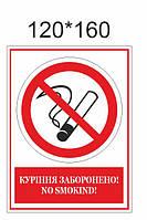 Наклейка «Курити заборонено»