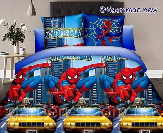 Комплект постельного белья Человек-паук ТМ TAG 1,5 спальный комплект, фото 2