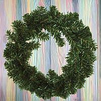 """Венок новогодний на дверь из искусственной хвои """"Новогодний"""" d- 40 см"""