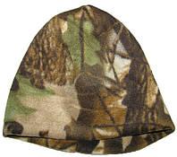 Шапка камуфлированная из двухслойного флиса