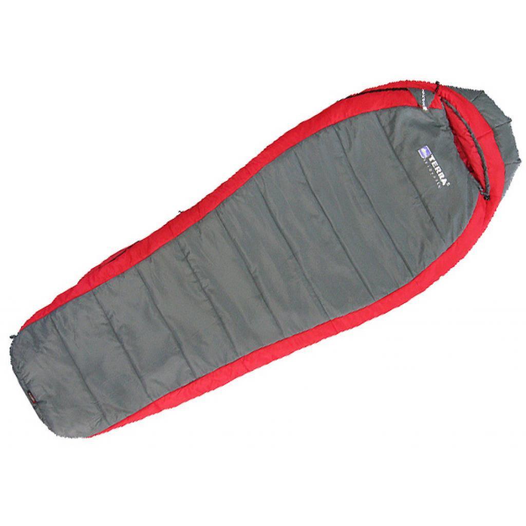 Спальный мешок Terra Incognita Termic 1200 L red / gray (4823081501954)