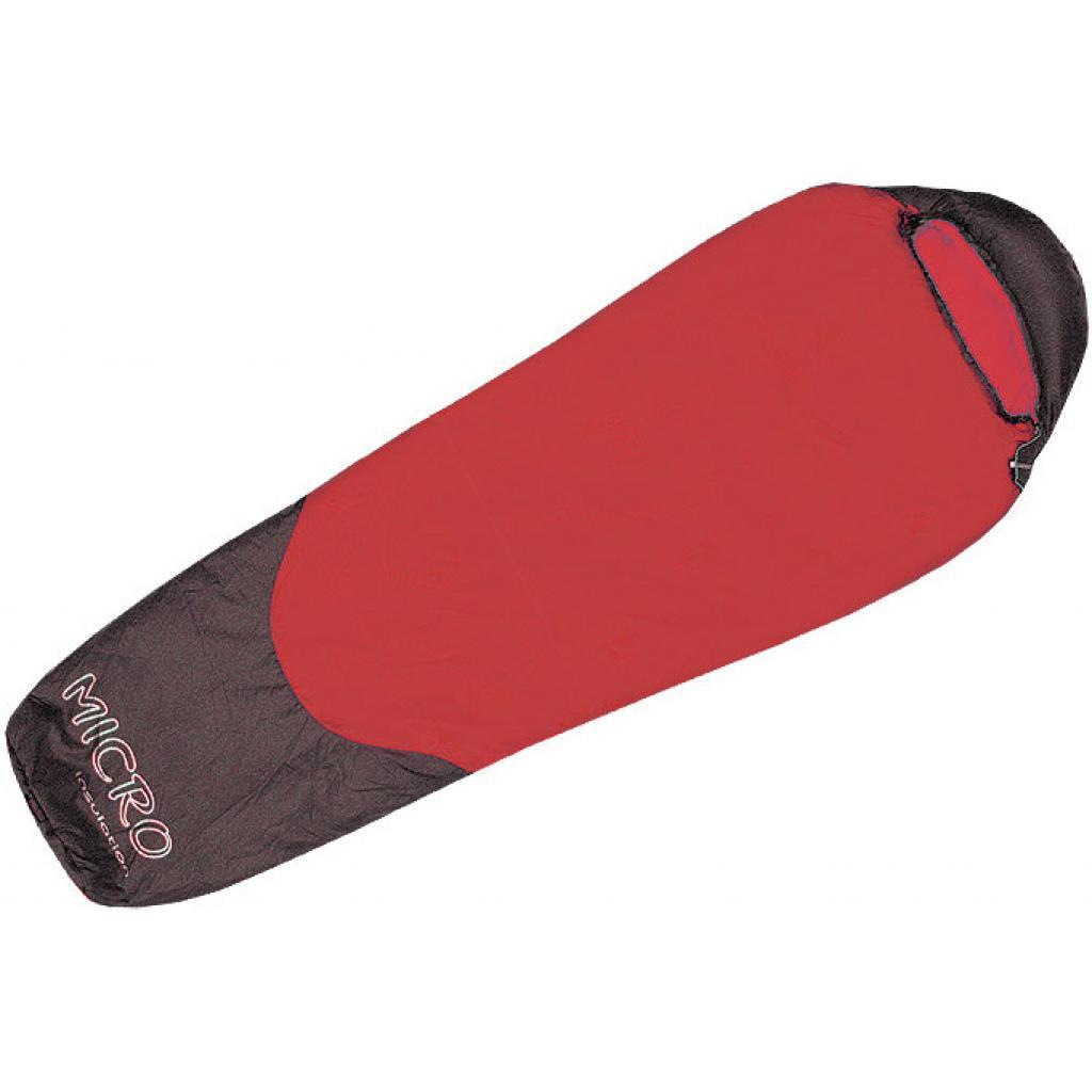 Спальный мешок Terra Incognita Compact 700 L red / gray (4823081501992)