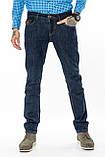 Мужские джинсы Franco Benussi 16-107 Sofia 6195 темно-синие, фото 2