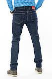 Мужские джинсы Franco Benussi 16-107 Sofia 6195 темно-синие, фото 6