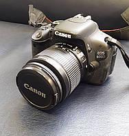 Фотоаппарат Canon EOS 600D+18-55mm IS II