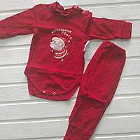 Новорічний костюм Маленький Санта 86 ріст