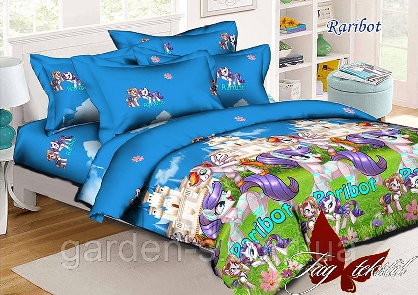 Комплект постельного белья Дружба - это чудо ТМ TAG 1,5 спальный комплект Наволочка 70х70 см., Увеличенный 160х215 см.