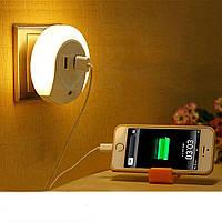 Переходник USB  светильник с датчиком на свет