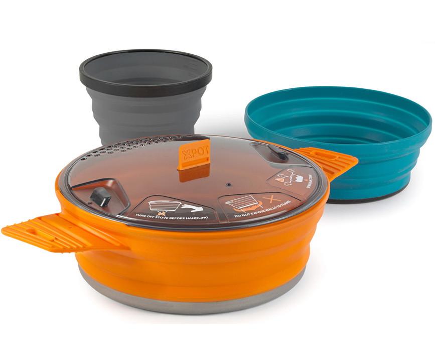 Набір складаний посуду Sea to Summit STS X-POT (каструля, миска, чашка)