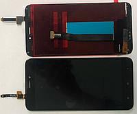 Дисплей для Xiaomi Redmi 4x модуль в сборе с тачскрином, черный