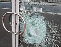 Бронирование ударопрочной пленкой окон, дверей, перегородок в Киеве и области