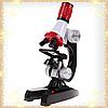 Детский микроскоп для ребенка школьный с 1200 Х увеличением Chanseon 1411 (10753) LED, фото 3