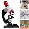 Детский микроскоп для ребенка школьный с 1200 Х увеличением Chanseon 1411 (10753) LED, фото 10