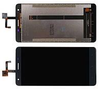 Дисплей модуль Oukitel K6000 Pro в зборі з тачскріном, чорний