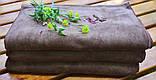 Полотенце 35*75см из микрофибры 400 г/м2 для маникюра-педикюра, коричневое, фото 6