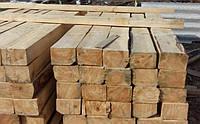 Шпалы деревянные непропитанные I и II типа короткие