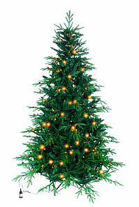 Искусственная елка Рождественская LED 180 комбинированная с лампочками