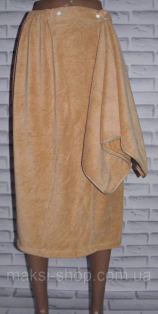Комплект для сауни рушник спідниця + рушник для рук та обличчя (S106)