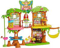 Игровой набор Энчантималс дом кафе Джунглолес Пикки Какаду и Шини. Enchantimals JUNGLEWOOD Cafe