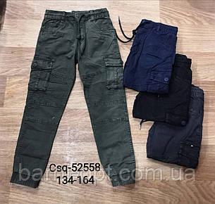Котонові штани для хлопчиків, Seagull 134-164 рр, фото 2