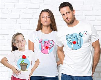 """Семейные футболки """" Family Look"""""""