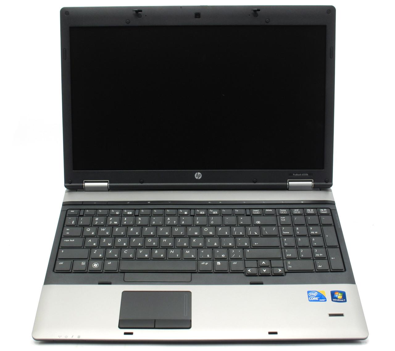 Ноутбук, notebook, HP Compaq 6550b, 4 ядра по 2,93 ГГц, 4 Гб ОЗУ, HDD 320 Гб